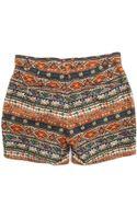 Obey Barbados Print Swim Shorts - Lyst