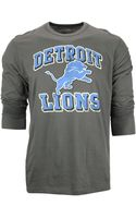 47 Brand Mens Long-sleeve Detroit Lions Flanker T-shirt - Lyst