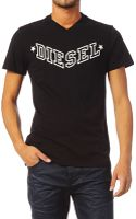 Diesel Short Sleeve T-Shirt - Lyst