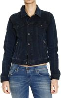 Diesel Jacket Denim - Lyst