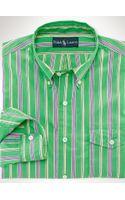Polo Ralph Lauren Striped Poplin Sport Shirt - Lyst