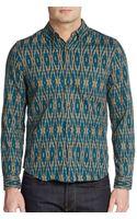 Life After Denim Regular-fit Silverlake Print Cotton Shirt - Lyst