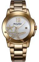 Tommy Bahama Womens Swiss Goldtone Stainless Steel Bracelet Watch 40mm - Lyst