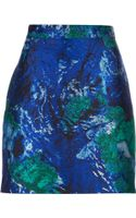 Proenza Schouler Jacquard Mini Skirt - Lyst