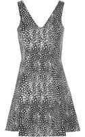 Topshop Feather Print Tunic - Lyst