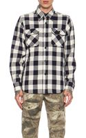 Mark Mcnairy New Amsterdam Mens Overshirt Cotton Button Down - Lyst