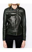 Muubaa Carmona Leather Biker Jacket - Lyst