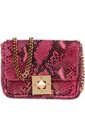 Pierre Balmain Small Leather Bag - Lyst