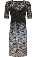 Missoni Lace Overlay Dress - Lyst