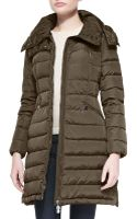 Moncler Quilted Midthigh Puffer Coat - Lyst