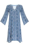 Cool Change Abby Tunic Cercle Ls Vneck - Lyst