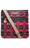 MICHAEL Michael Kors Kempton Deco Print Nylon Large Crossbody Bag - Lyst