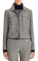 Anne Klein Tweed Jacket - Lyst