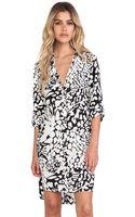 Diane Von Furstenberg Prita Wrap Shirt Dress - Lyst