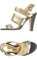 Enrico Lugani Highheeled Sandals - Lyst