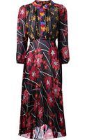 Duro Olowu Flower Print Dress - Lyst