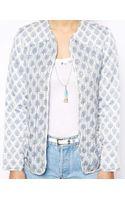 Asos Jacket in Summer Paisley Print - Lyst