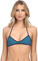 Marc By Marc Jacobs Radioactive Stripe Triangle Halter Top - Lyst