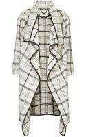 Topshop Premium Textured Blanket Coat - Lyst