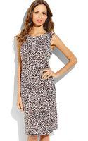 Diane Von Furstenberg Jolene Leopard Print Dress - Lyst