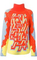 Peter Pilotto Pac Intarsia Sweater - Lyst