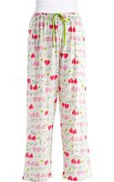 Hue Patterned Pajama Pants - Lyst