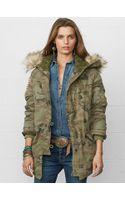 Denim & Supply Ralph Lauren Down Camo Snorkel Jacket - Lyst