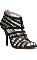 Michael Kors Michael Tatianna Back Zip Sandals - Lyst