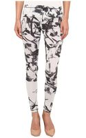 McQ by Alexander McQueen High Waisted Printed Leggings - Lyst