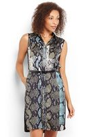 Kenneth Cole Toriana Belted Dress - Lyst