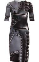 Mary Katrantzou Turkoplus Ls Jersey Dress - Lyst