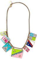 Lanvin Charm Necklace - Lyst