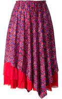 Comme Des Garçons Layered Skirt - Lyst