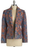 Tulle Dba Morning Glow Got Style On Tapestry Blazer - Lyst