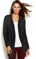 Inc International Concepts Fringed Openfront Cardigan - Lyst