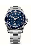 Victorinox Mens Maverick Silvertone Watch - Lyst