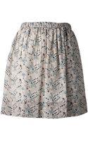 Sea Paisley Skirt - Lyst