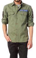 Denim & Supply Ralph Lauren Long Sleeve Shirt M04 Wlsay Crmyw A3rmy Ls Army Shirt - Lyst