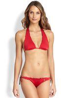 Roberto Cavalli Twopiece Reversible Triangle Bikini - Lyst