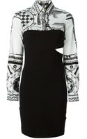 Anthony Vaccarello X Versus Versace Anthony Vaccarello X Versace Dress - Lyst