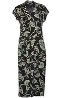 Etro Mid Length Dress - Lyst