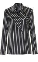 Topshop Stripe Blazer   - Lyst