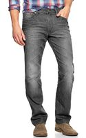 Gap Straight Fit Jeans Plank Wash - Lyst