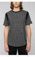 Unyforme Unyforme Shortsleeve Speckled Pullover Sweatshirt - Lyst