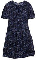 Gap Floral Drop Waist Dress - Lyst