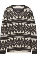 Etoile Isabel Marant Intarsia Mohair-blend Sweater - Lyst