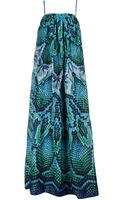 Just Cavalli Long Dress - Lyst