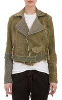 Greg Lauren Brando Moto Jacket - Lyst
