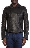 Pierre Balmain Leather Jacket - Lyst