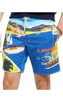Polo Ralph Lauren Palm Island Swim Trunks - Lyst